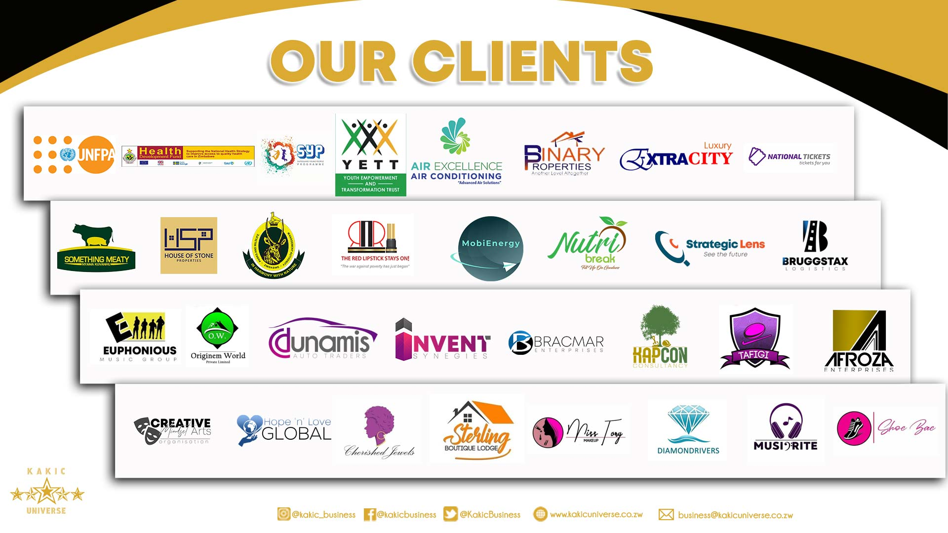 Our clients | Zimbabwe Animation | Kakic Universe